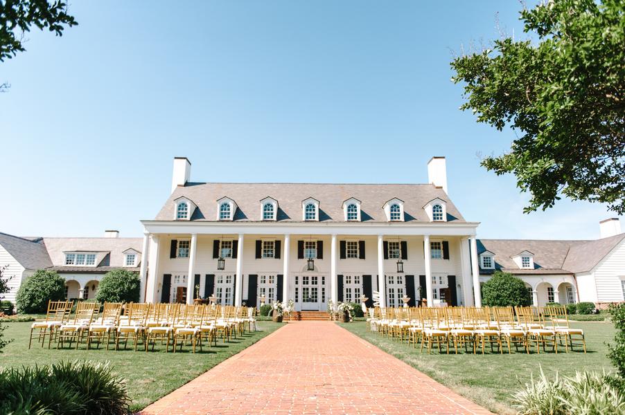 Pine Lakes Country Club Wedding ceremony
