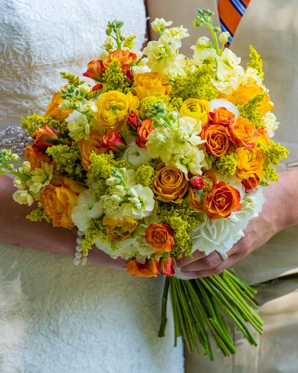 Orange and Yellow Bouquet