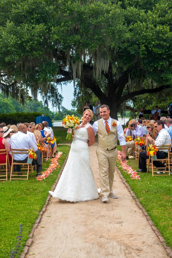 Will + Dana's Middleton Place Wedding Ceremony in Charleston, Sc