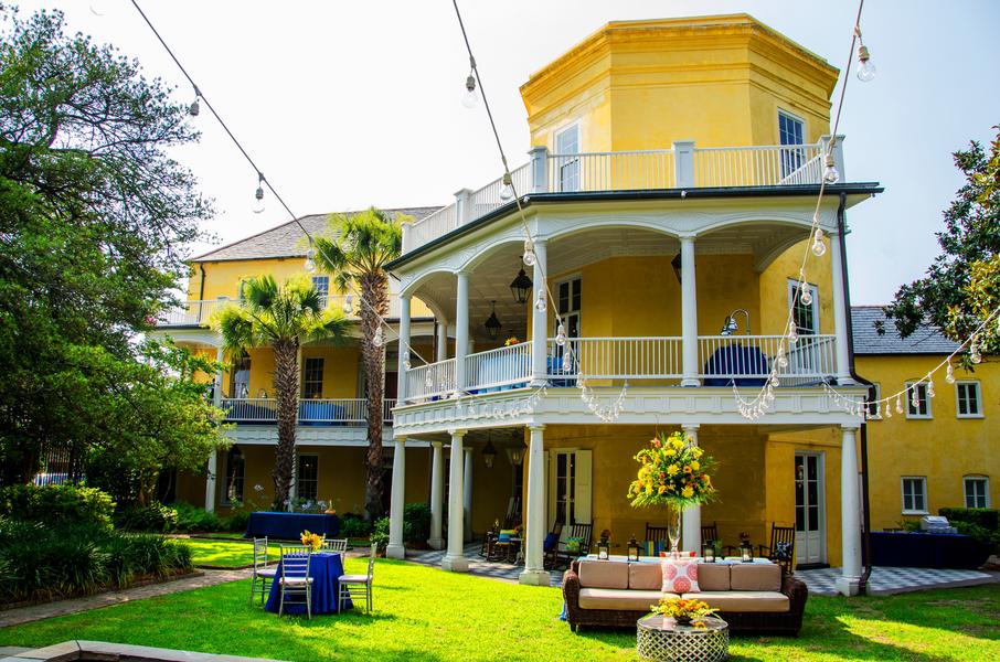 William Aiken House wedding in Charleston, Sc