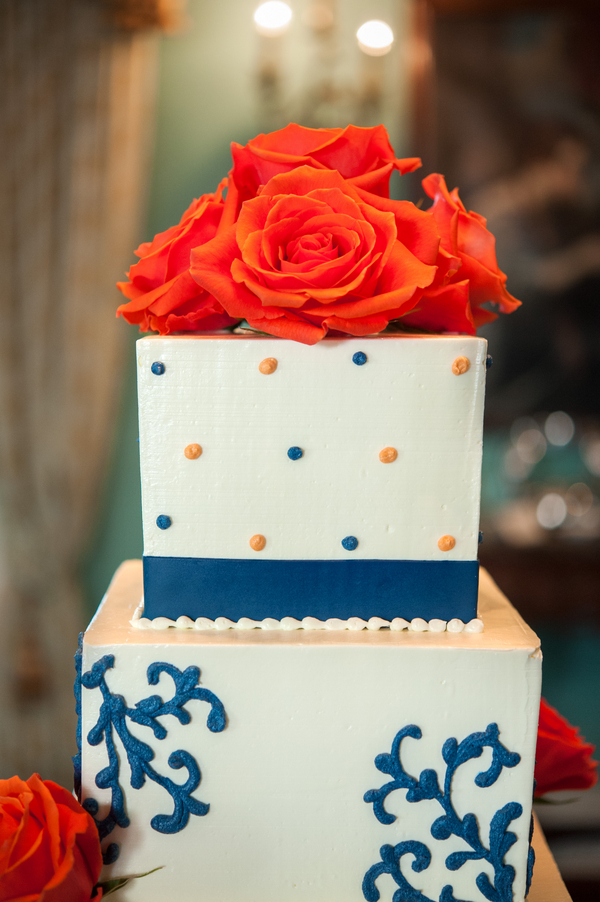 William Aike House Wedding Cake by Cakes by Kasarda