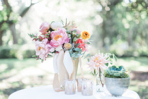 Pastel Wedding Inspiration in Savannah by Colonial House of Flowers