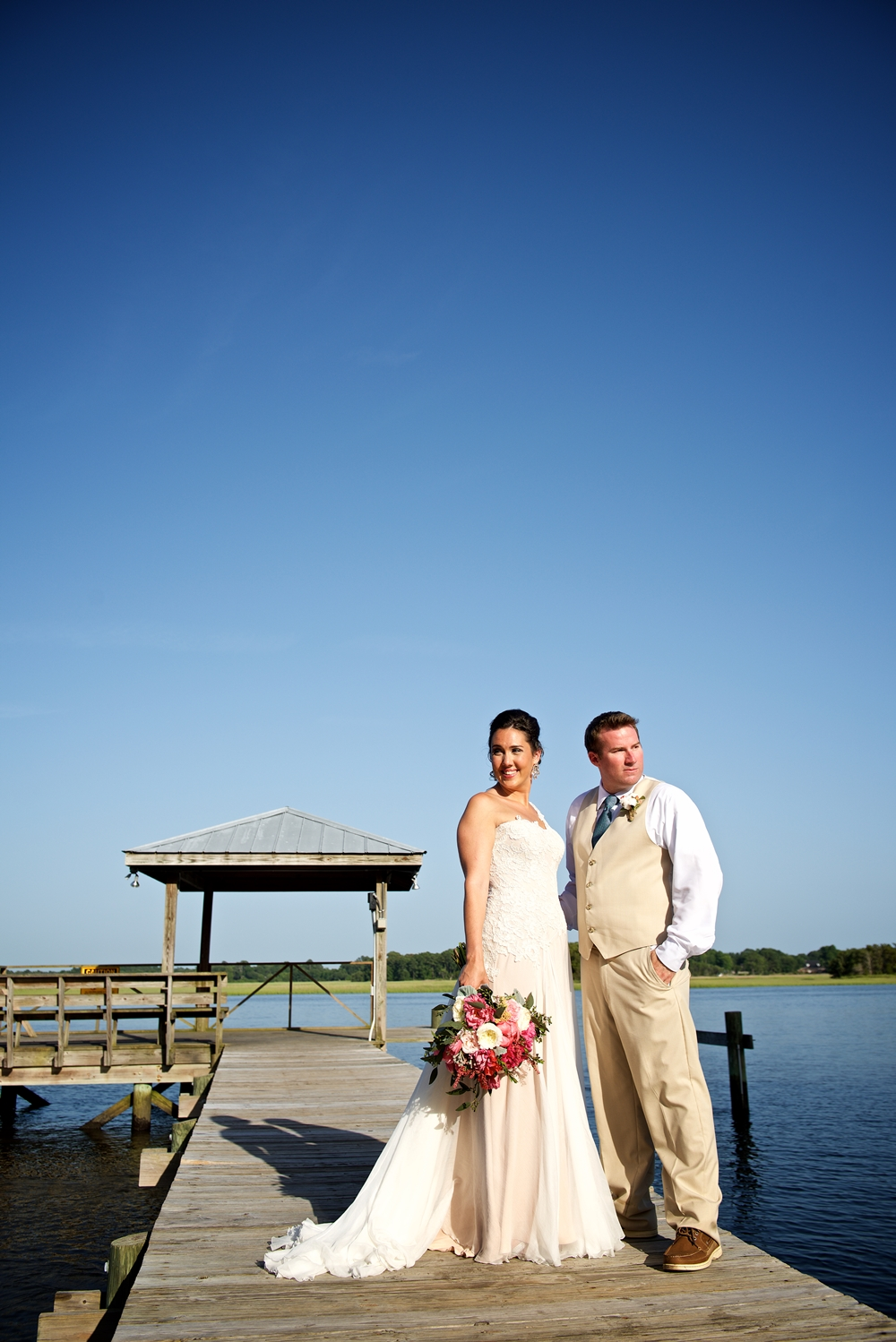 Christine Kohler + Brook Bristow's Summer Charleston wedding at Old Wide Awake Plantation by Yoj Events and Stephen Blackmon Photo + Cinema