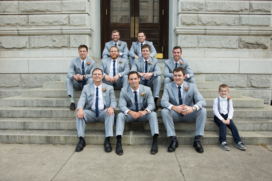 Charleston Wedding Groomsmen