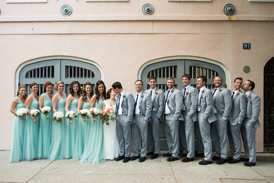 Jason + Kelly's Rice Mill Building Wedding
