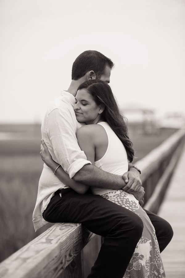 David + Meghan's Charleston Engagement on the docks