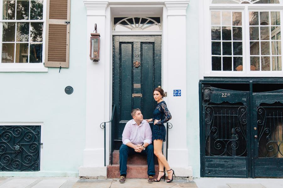 Charleston Wedding Anniversary Shoot at The Battery