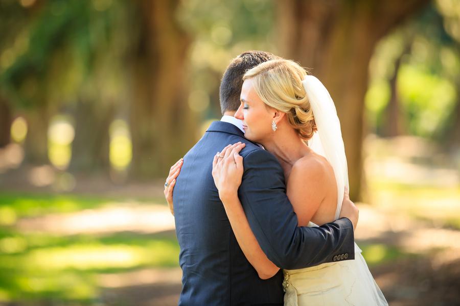 Red Charleston Wedding at Boone Hall Plantation by David Strauss Photography