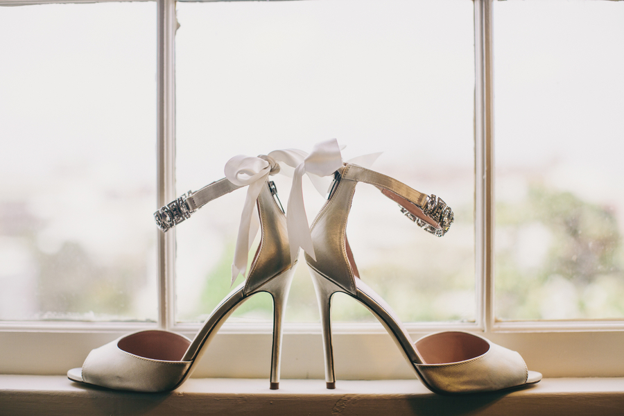 Charleston wedding shoes at Mills House by Hyer Images