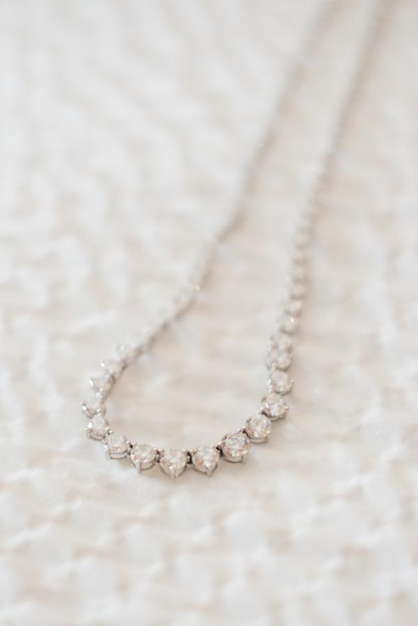Charleston Elopement - Wedding Necklace