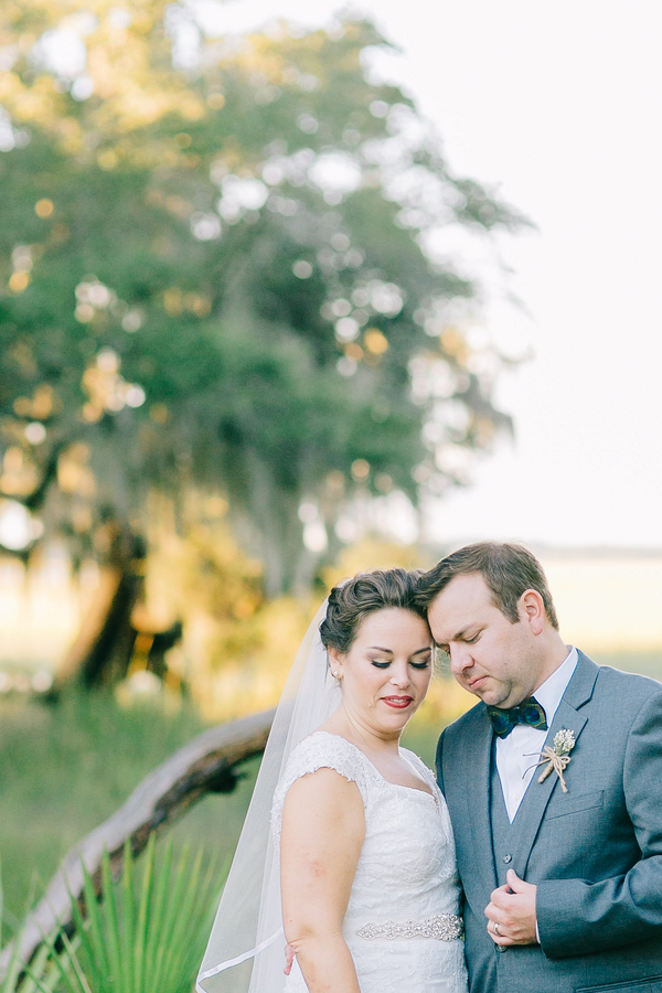 Edisto Beach Wedding at Cassina Point Plantation by Catherine Ann Photography