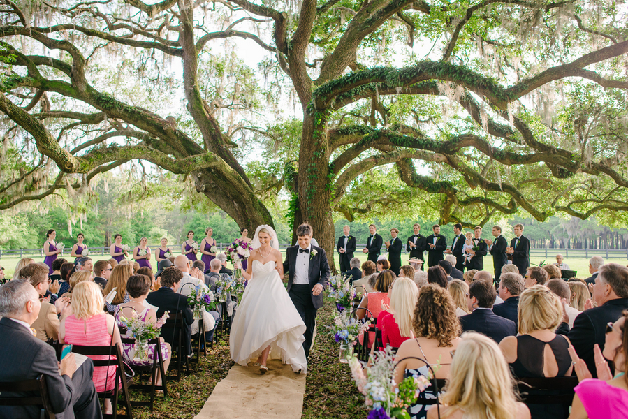 Best Wedding Ceremony Locations of 2015 - Charleston, Savannah, Hilton Head and Myrtle Beach