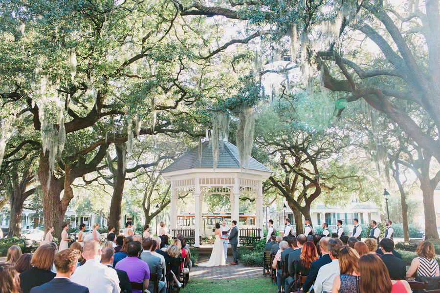 Best Lowcountry Wedding Cermeony Locations of 2015 - Savannah, Hilton Head, Charleston and Myrtle Beach
