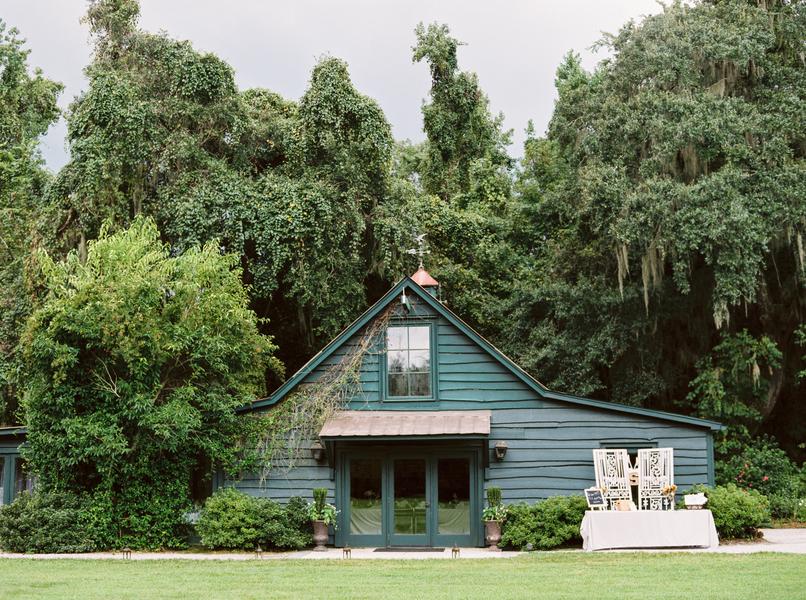 Charleston Magnolia Plantation wedding by JoPhoto