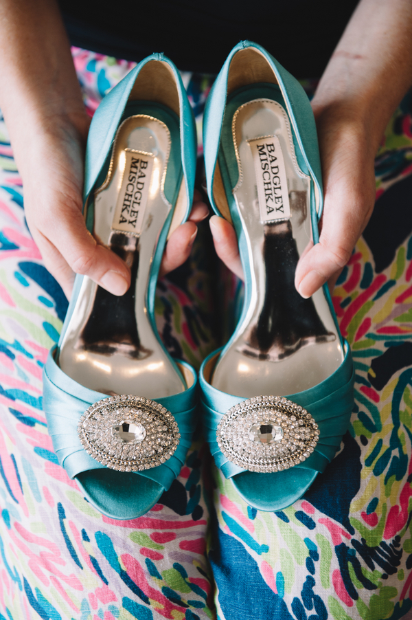 Charleston Wedding shoes at First Presbyterian Church + Wingate Plantation