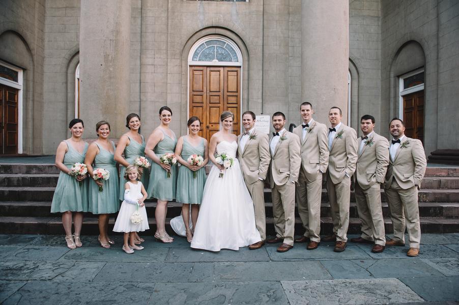 Charleston Wedding at First Presbyterian Church + Wingate Plantation