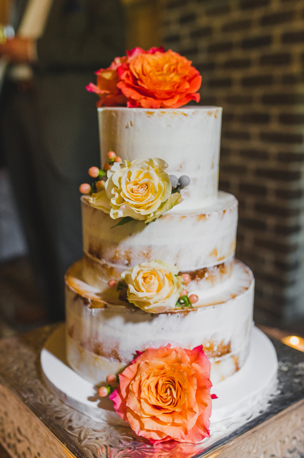 Charleston Wedding Cake by Declare Cakes at the Pavilion at Pepper Plantation by Priscilla Thomas Photography