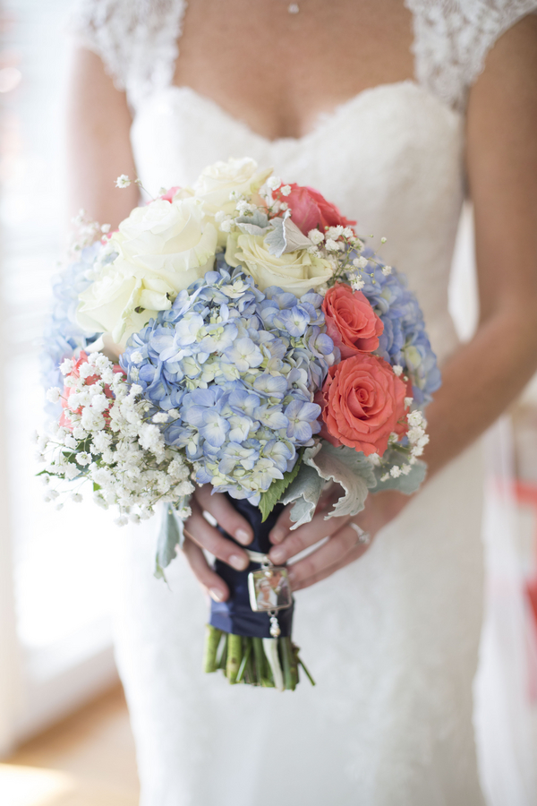 Charleston Wedding Bouquet at Harborside East by Ava Moore Photography