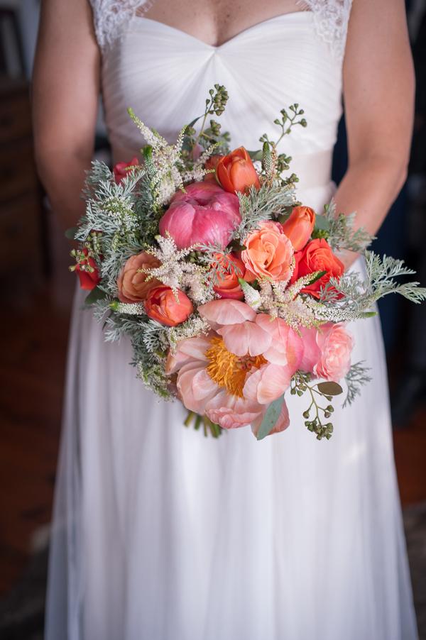 Wadmalaw Island, SC wedding bouquet by Molly Joseph Photography
