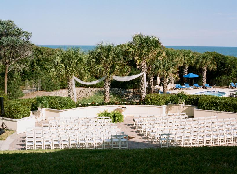 Grande Dunes Ocean Club wedding ceremony in Myrtle Beach, South Carolina