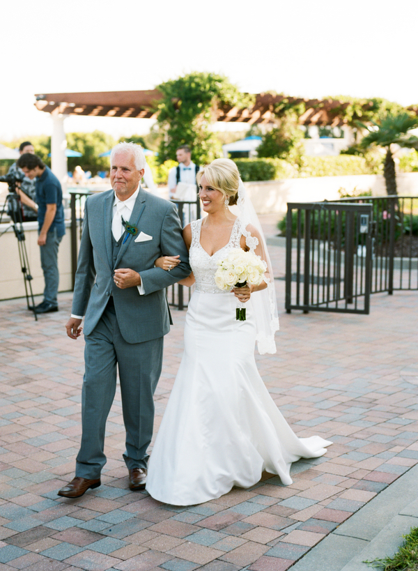 Grande Dunes Ocean Club wedding ceremony in Myrtle Beach, South Carolina by Gillian Claire Photography