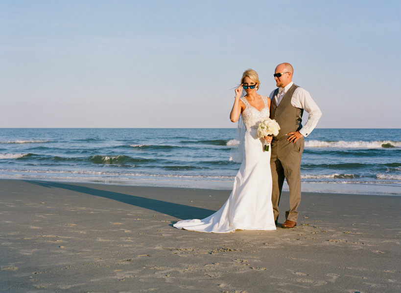Myrtle Beach wedding at Grande Dunes Ocean Club by Gillian Claire Photography