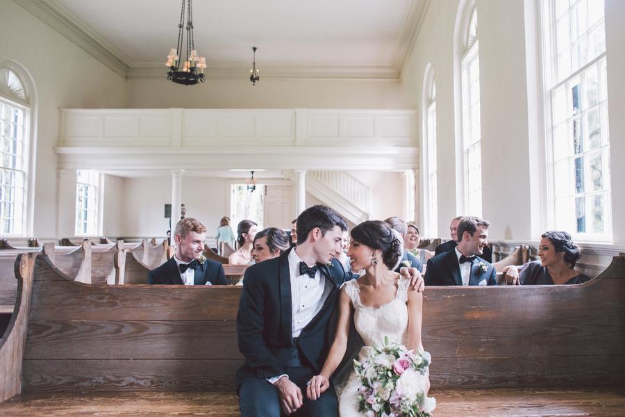 Jennifer + Zach's Savannah wedding at The Whitfield Chapel by Krista Turner Photography