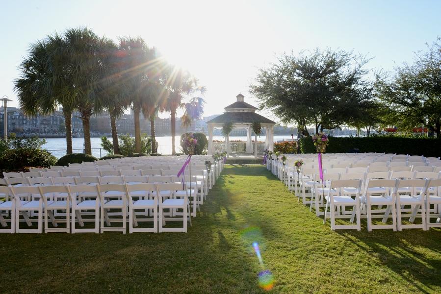 Ashley + Paul's  Westin Savannah Harbor Wedding