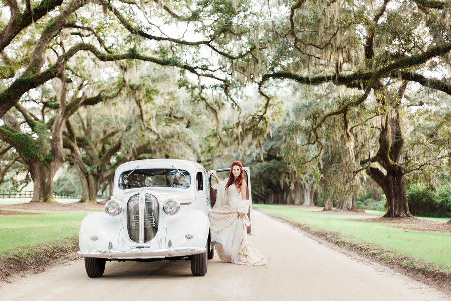 Tenille Houston's Boone Hall Plantation Bridals in Charleston, SC by Judy Nunez Photography