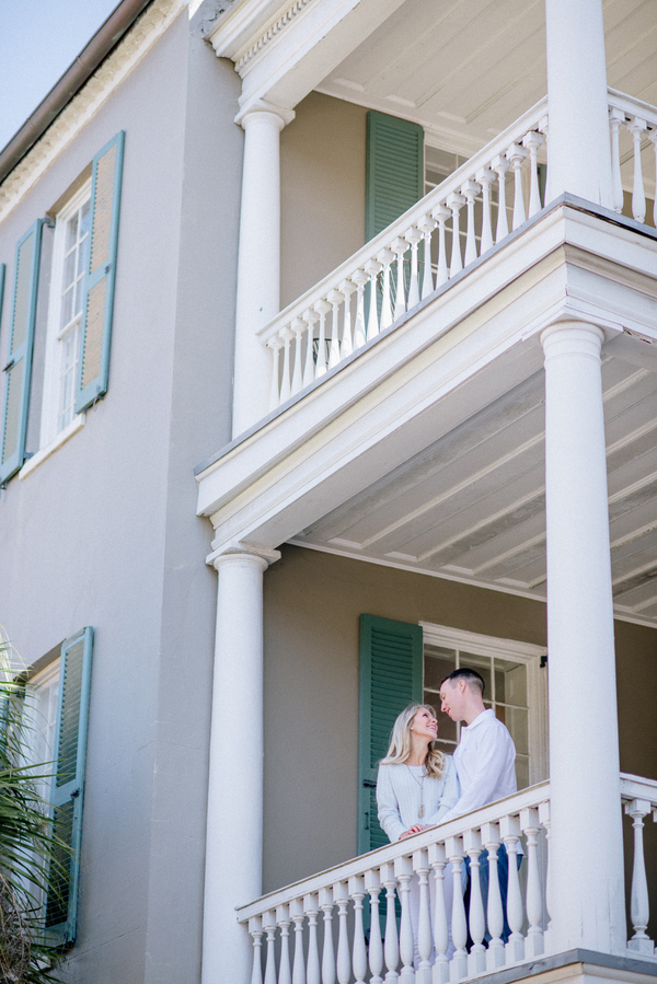 Max Anderson + Samantha Wiley's Charleston wedding engagement by BellaEva Photography