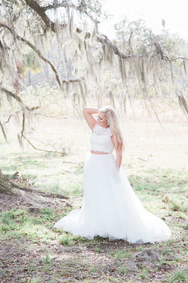 Wormsloe State Historic Site in Savannah, Georgia - Kaylee's wedding portraits by Kasie Tanner Photography