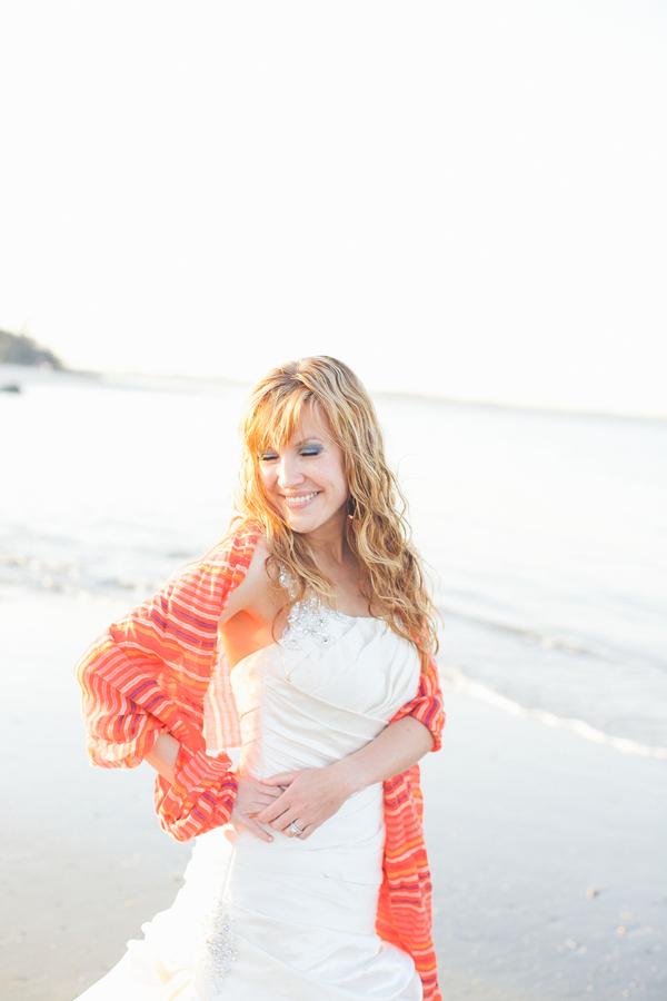 Charleston Bridals on Folly Beach, SC by Taylor Rae Photography
