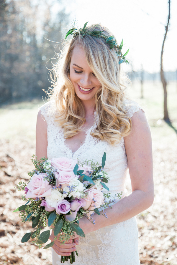 The Blush Bridal Brunch - Georgia Wedding Inspiration from Kasie Tanner Photography, Blossoms Florist and MM Ink