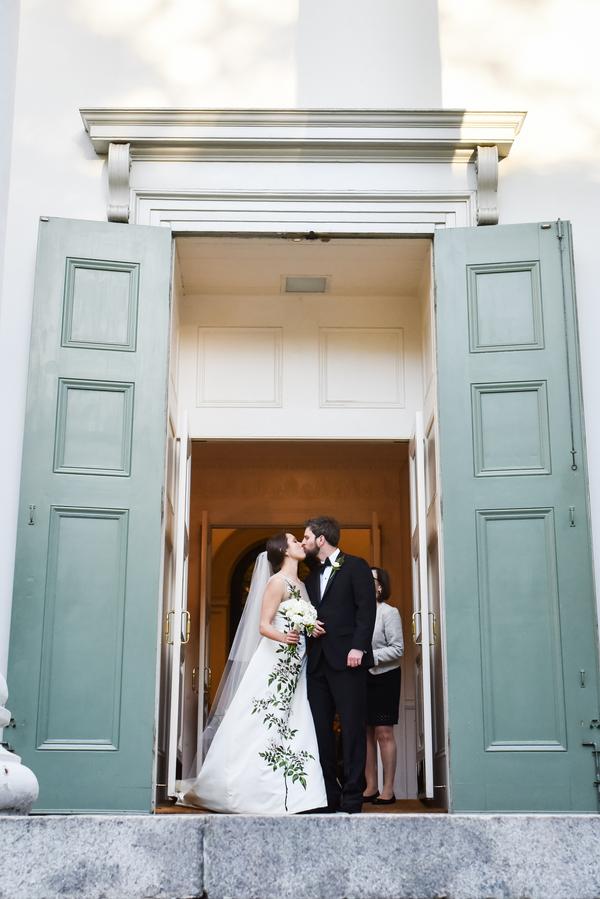 Christ Church Ceremony and Oglethorpe Club wedding in Savannah, Georgia by Donna Von Bruening and Anne Bone Events
