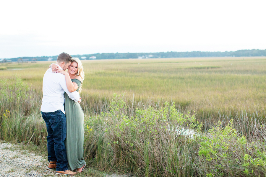 Caledonia Golf & Fish Club Engagement in Pawleys Island, SC by Myrtle Beach Vendors Magnolia Photography