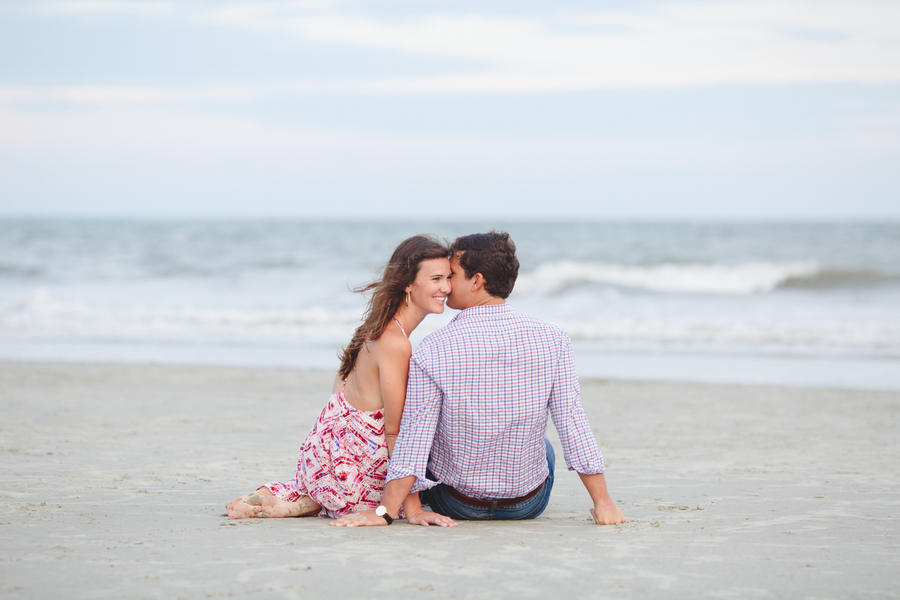 Ashley + William's Hilton Head Island engagement at Sea Pines Resort by Emily Baucom Photography