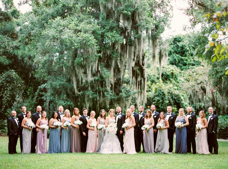 Scott + Autumn's Magn olia Plantation and Gardens wedding  by JoPhoto