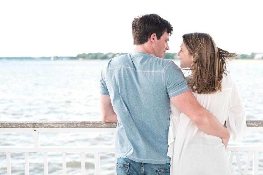 Mayci + Danny's Charleston, Sc engagement by Rachel Craig Photography