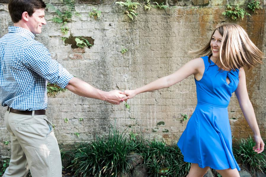 Mayci + Danny's Charleston, SC wedding engagement by Rachel Craig Photography