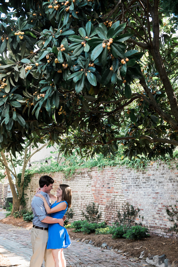 Charleston wedding engagement in The Holy City by Rachel Craig Photography
