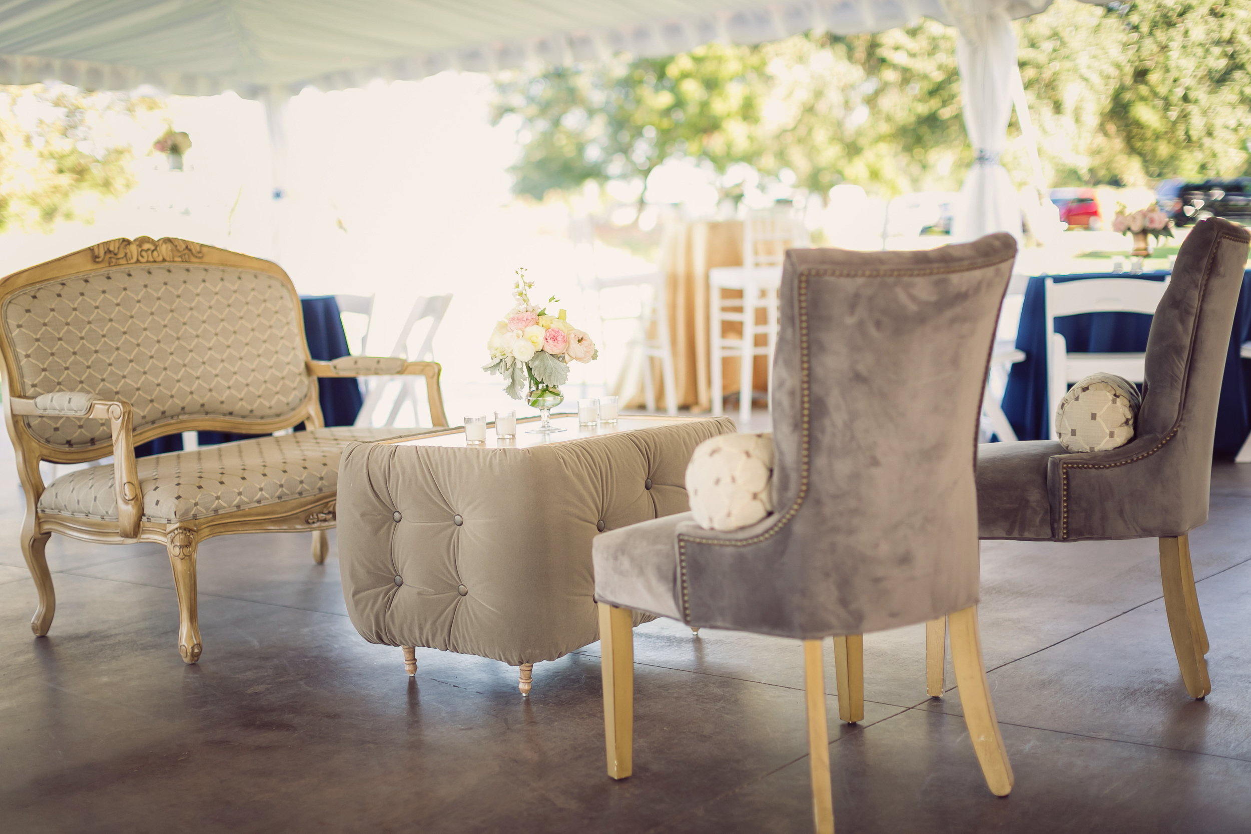 Charlesotn wedding lounge furniture from Eventworks