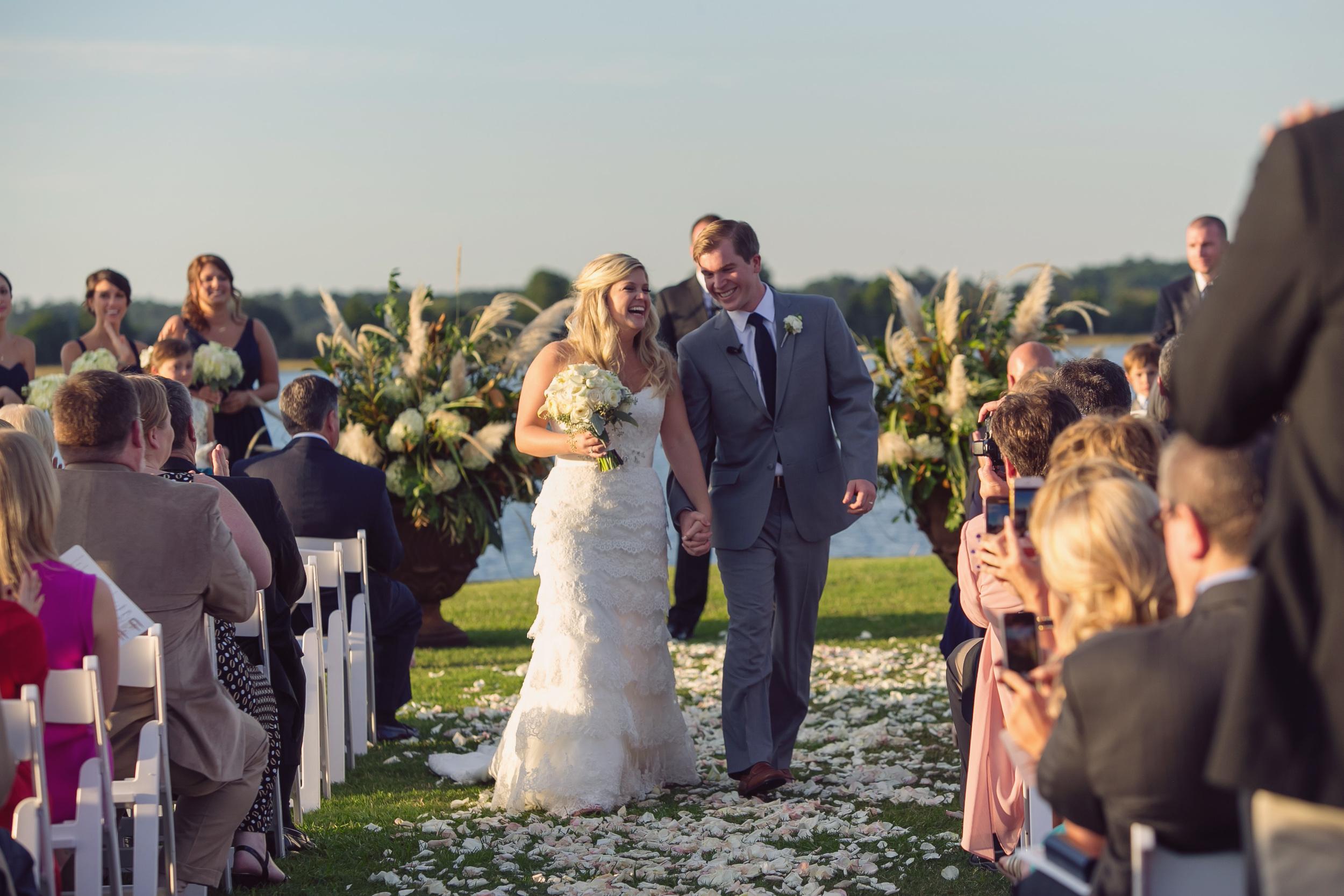 Hannah + Andy's Island HOuse wedding ceremony by Rebecca Keeling Photogaphy