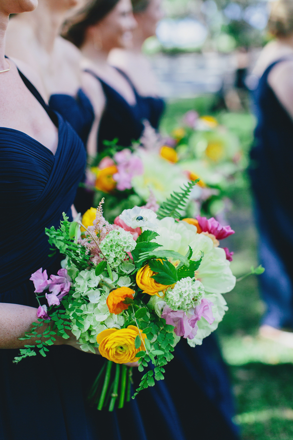 Charleston wedding bouquets by Branch Design Studio
