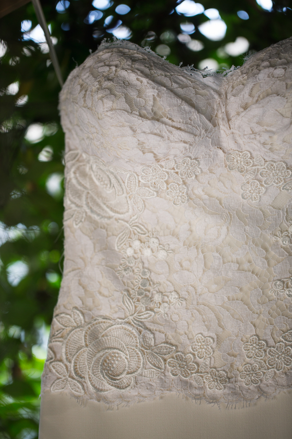 Beaufort, SC wedding dress by Grace Hill Photography