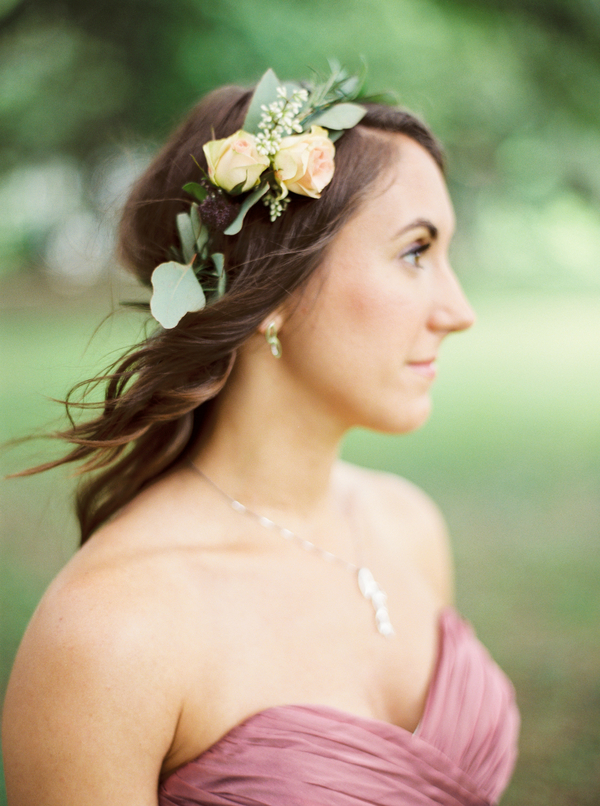 Bridesmaids Floral crown by Confetti of Charleston