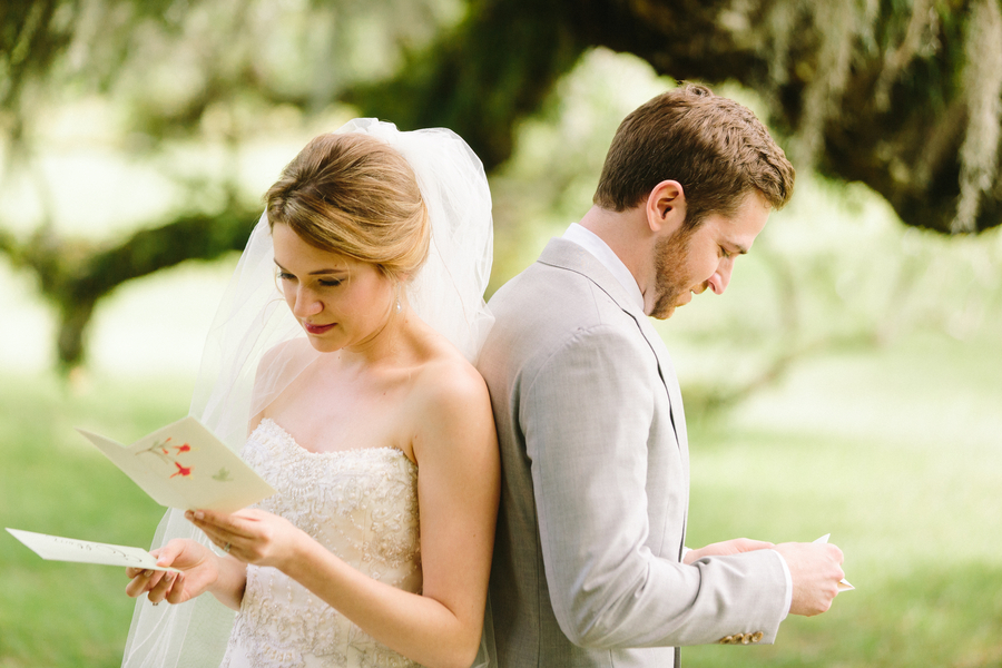 First look at Ellen + Dylan's Charleston wedding at McLeod Plantation