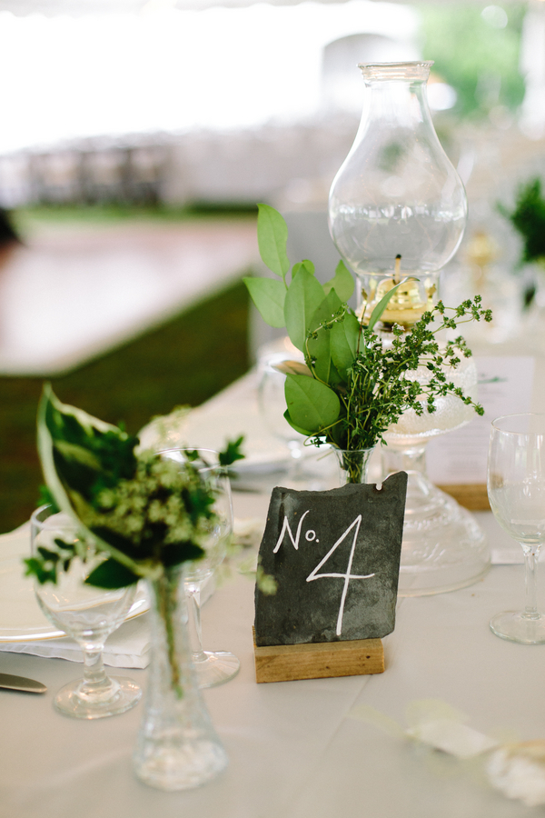 Natural wedding decor by Confetti of Charleston