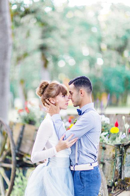 Romantic Wedding elopement by Myrtle Beach designer Corina Silva