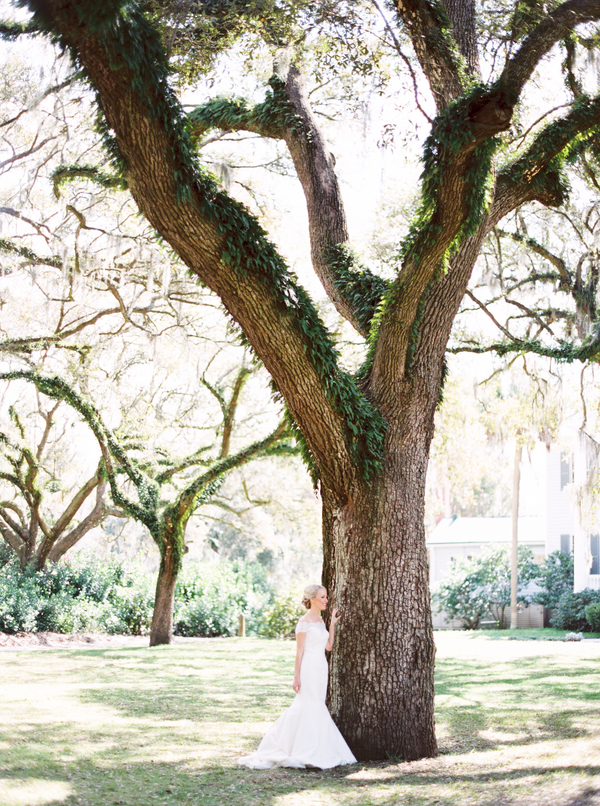 Charleston wedding dress by Augusta Jones from White Magnolia
