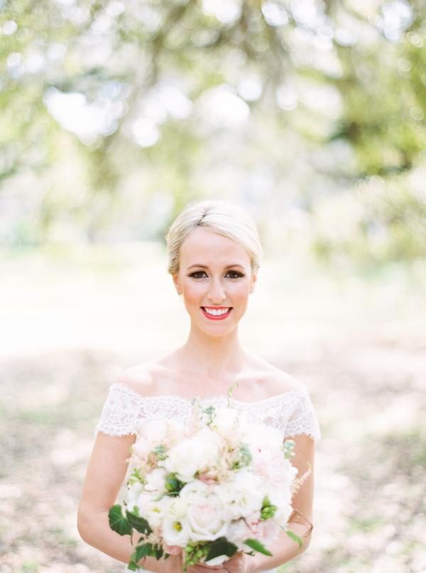 Charleston bridal portraits at Mcleod Plantation